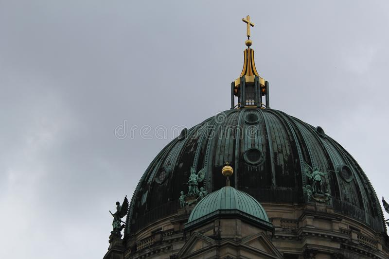 Ciudad famosa de Europa de la arquitectura de la fotografía del arte de Berlín fotografía de archivo