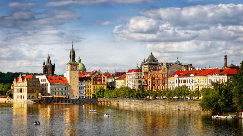 Ciudad famosa de Praga fotos de archivo libres de regalías