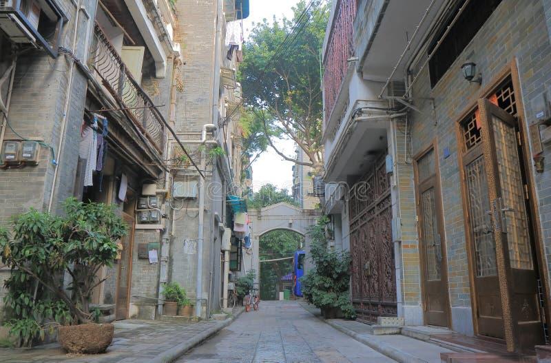 Ciudad Guangzhou China de la antigüedad de Xiguan imágenes de archivo libres de regalías