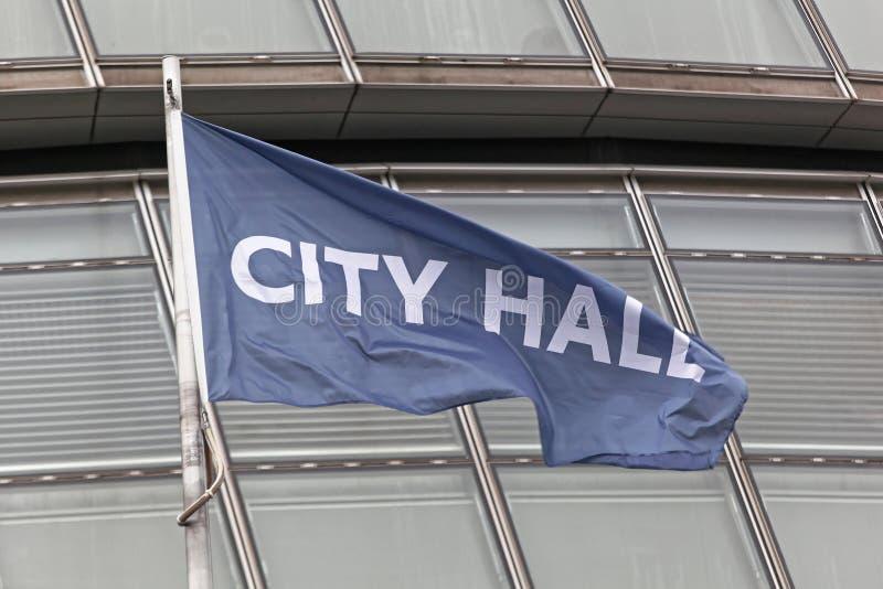 Ciudad Hall London foto de archivo libre de regalías