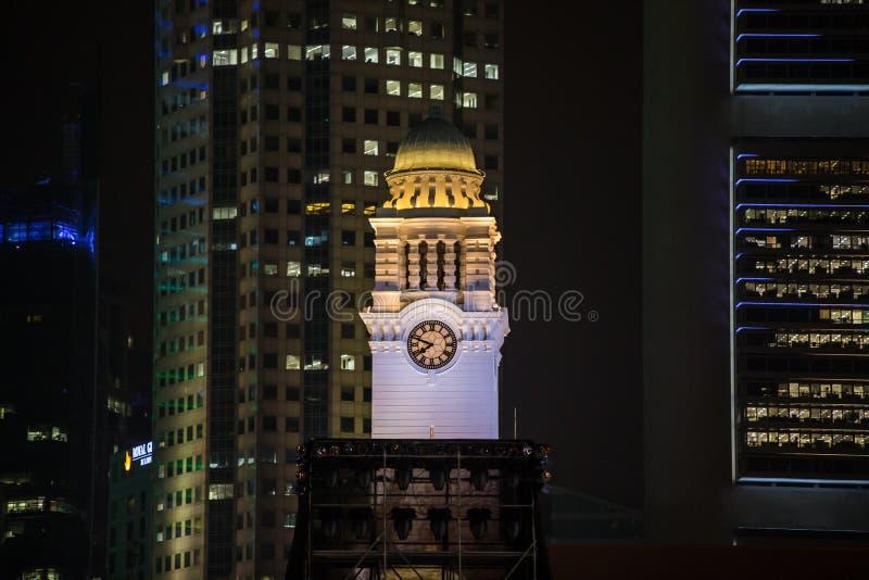 Ciudad Hall Singapore imagenes de archivo