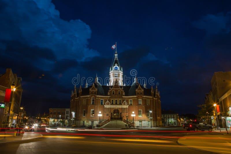 Ciudad Hall Stratford foto de archivo libre de regalías