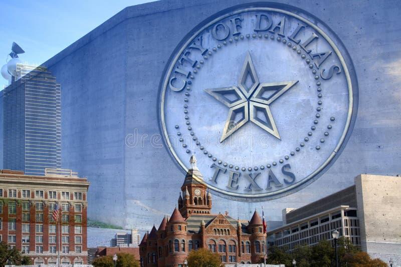 Ciudad hermosa de Dallas Texas imágenes de archivo libres de regalías