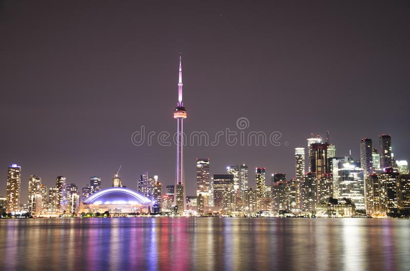 Ciudad hermosa de Toronto fotografía de archivo libre de regalías