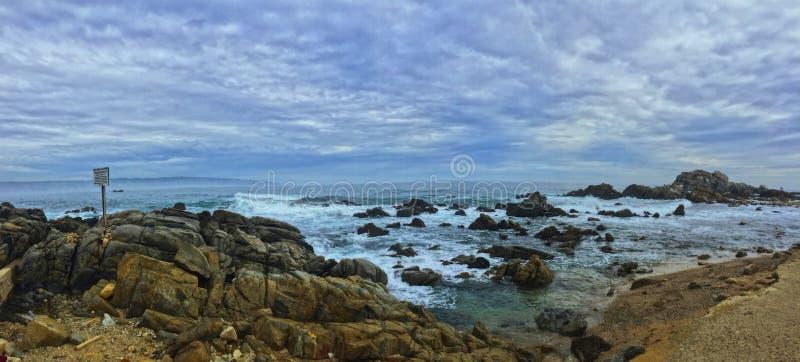 ciudad hermosa del verde de mar de América fotos de archivo