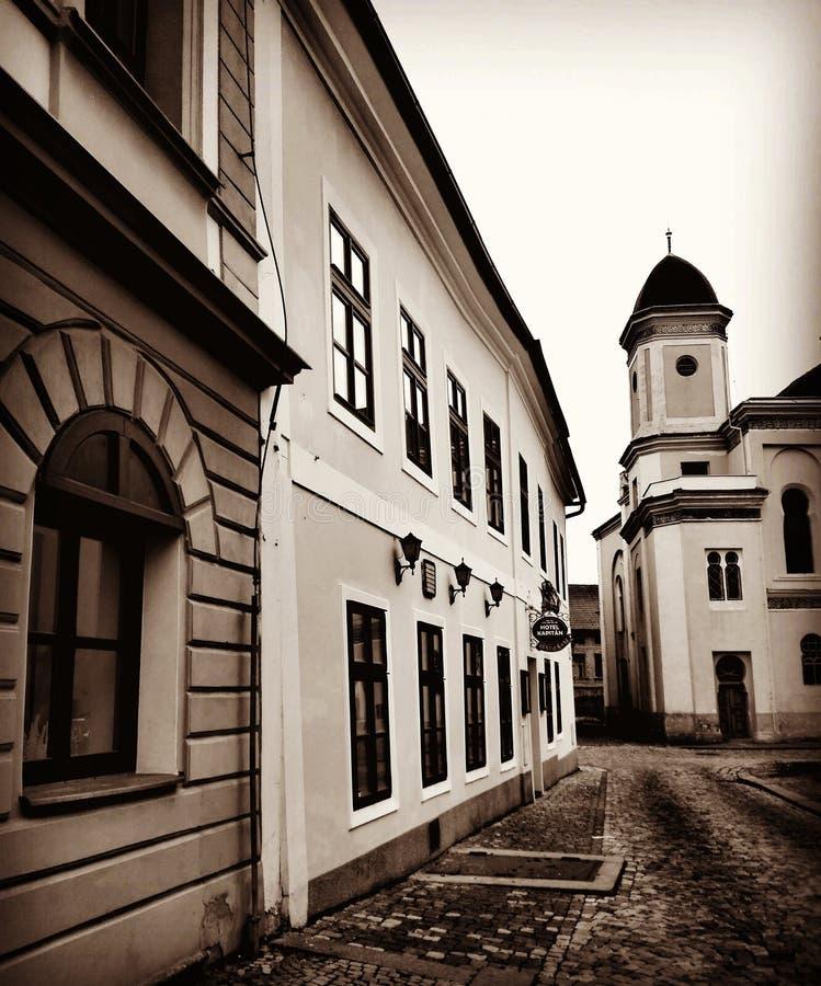 Ciudad histórica foto de archivo