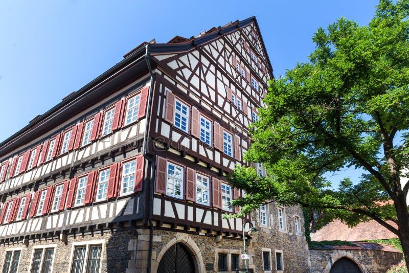 Ciudad histórica Alemania de Reutlingen foto de archivo