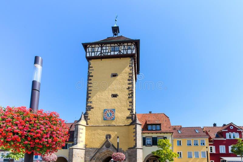 Ciudad histórica Alemania de Reutlingen fotografía de archivo libre de regalías
