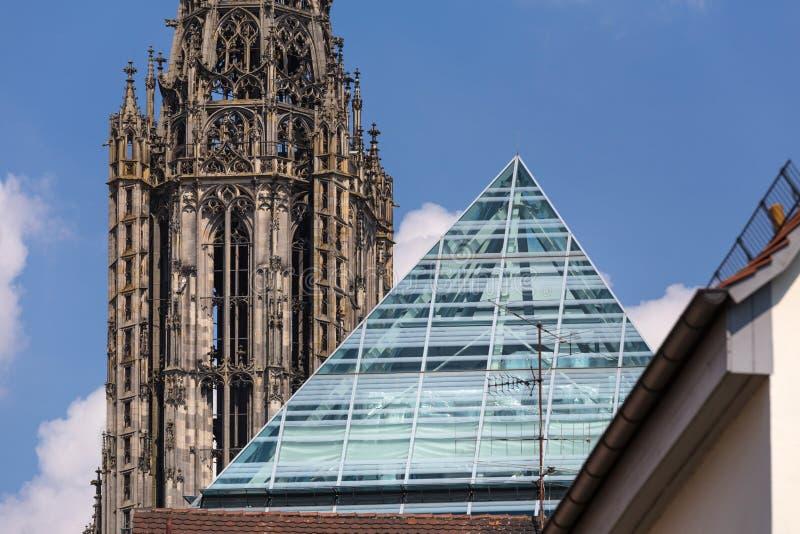 Ciudad histórica Baden-wurttemberg Alemania de Ulm imagen de archivo libre de regalías