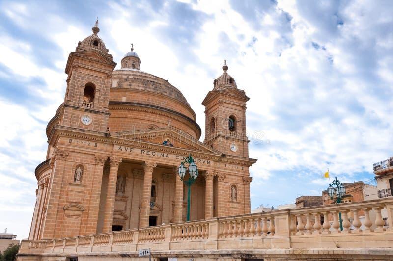 Ciudad histórica de Mgarr Malta imagen de archivo libre de regalías