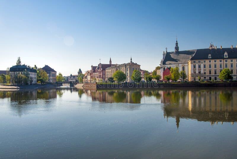 Ciudad histórica de Wroclaw fotos de archivo