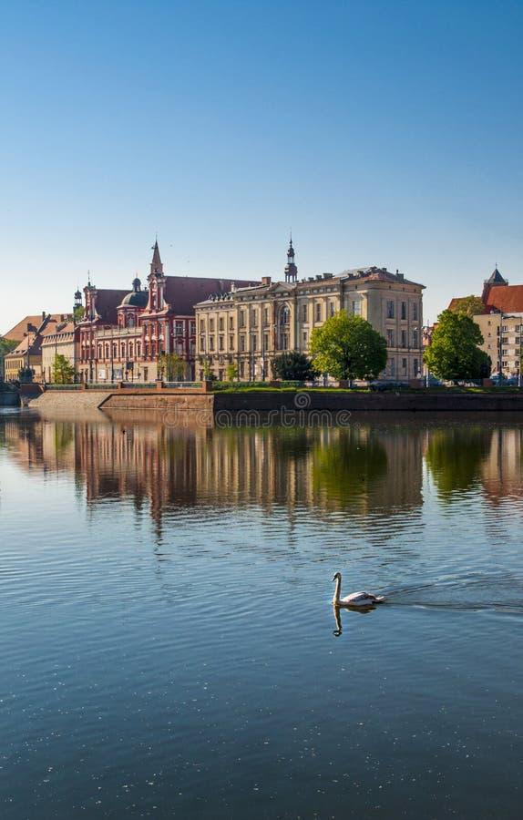 Ciudad histórica de Wroclaw fotografía de archivo