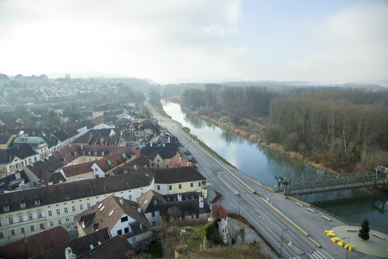 Ciudad histórica del ` s de Austria imagen de archivo