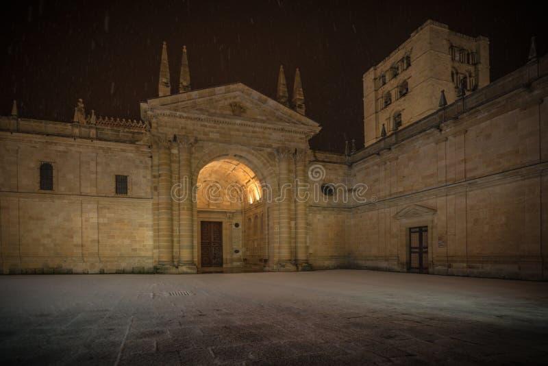 Ciudad histórica y cultural, en el centro de España fotografía de archivo libre de regalías