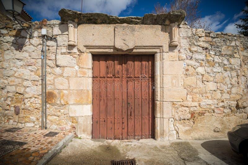 Ciudad histórica y cultural, en el centro de España foto de archivo libre de regalías
