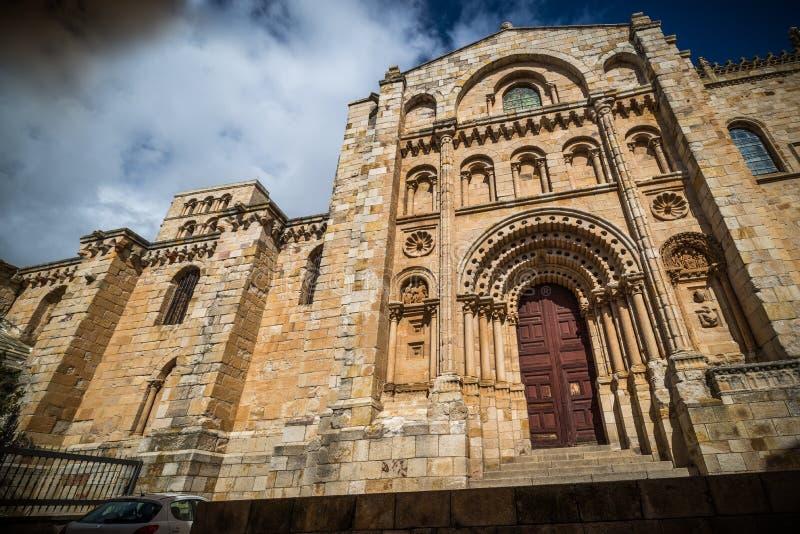 Ciudad histórica y cultural, en el centro de España imagen de archivo
