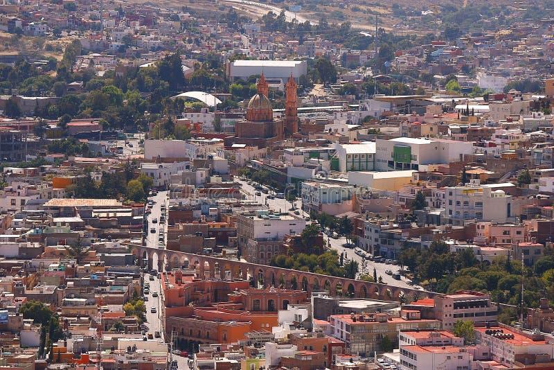 Ciudad I de Zacatecas imagen de archivo libre de regalías