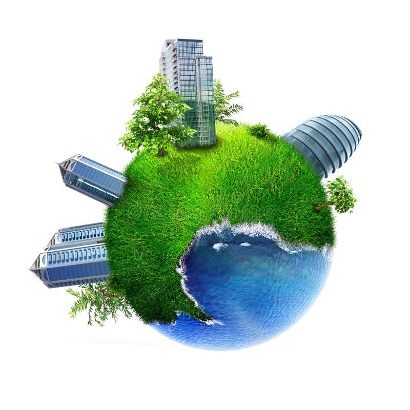 Ciudad ideal libre illustration
