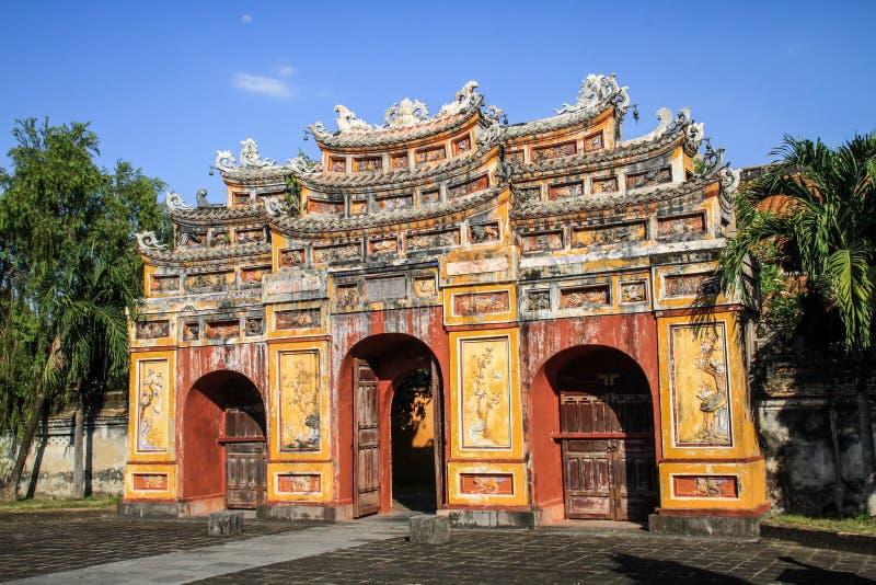 Ciudad imperial de la tonalidad, Thua Thien-Hue, tonalidad, Vietnam imagen de archivo libre de regalías