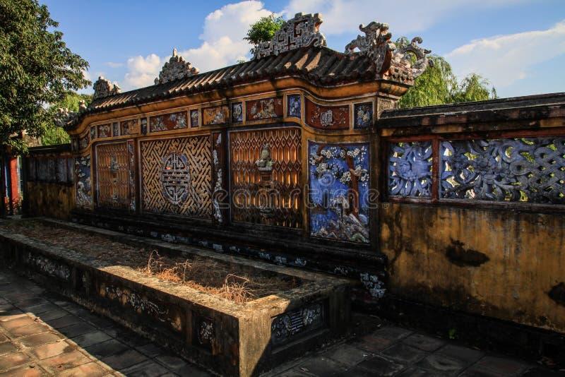 Ciudad imperial de la tonalidad, Thua Thien-Hue, tonalidad, Vietnam foto de archivo
