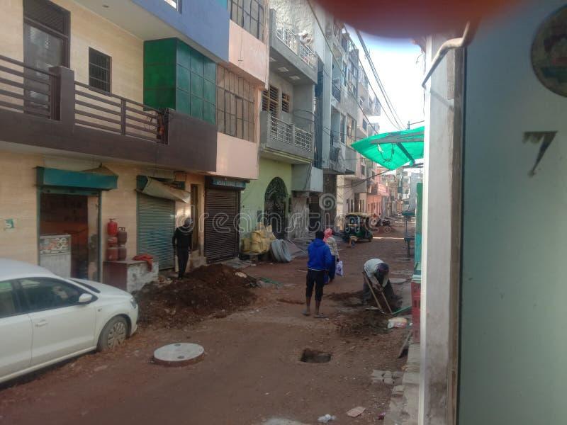 Ciudad inteligente Faridabad en India 2020 imágenes de archivo libres de regalías