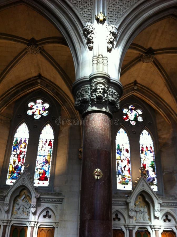 Ciudad Irlanda de Cobh de la catedral fotografía de archivo