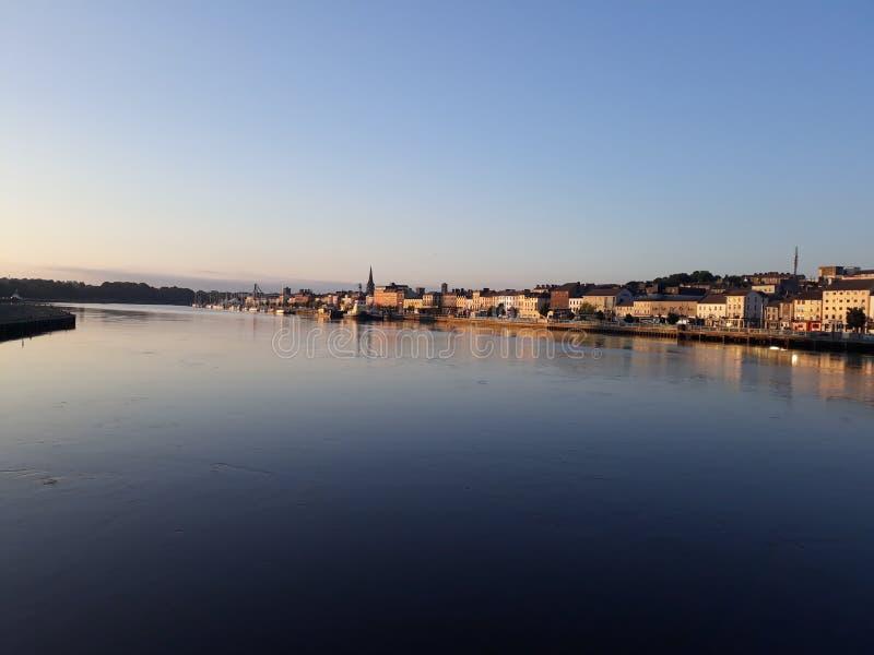 Ciudad Irlanda de Waterford fotografía de archivo
