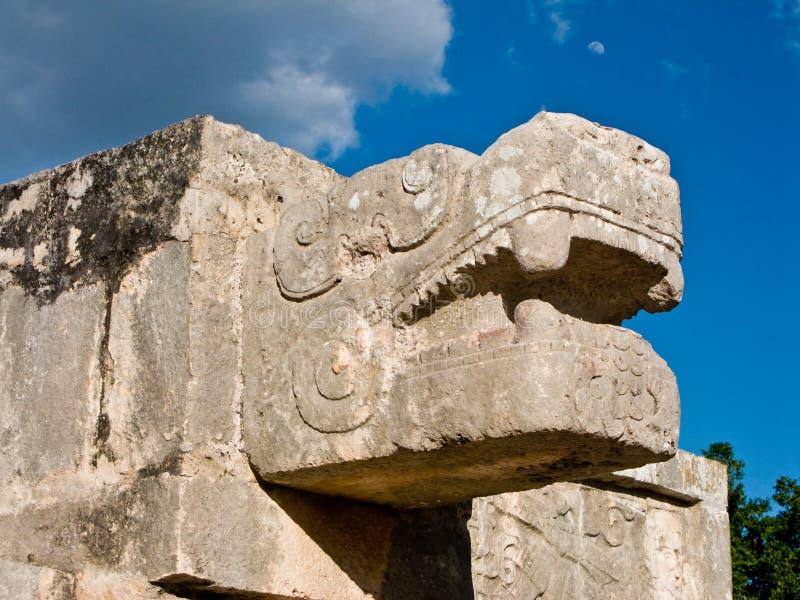 Ciudad maya antigua de Chichen Itza, México fotografía de archivo
