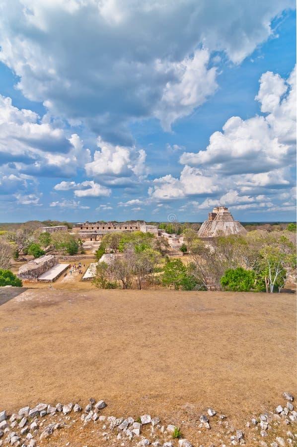 Download Ciudad Maya Antigua De Uxmal, Yucatán, México Foto de archivo - Imagen de complejo, arqueológico: 41901334