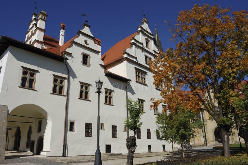 Ciudad medieval imagenes de archivo