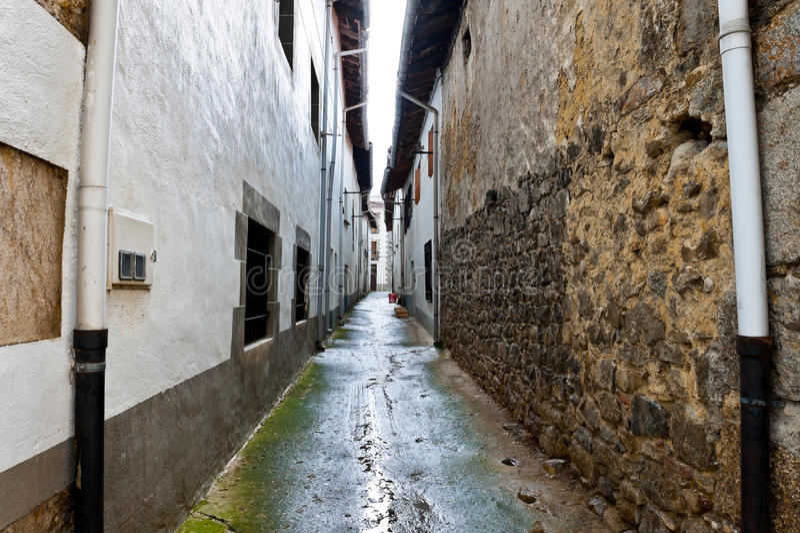 Ciudad medieval imágenes de archivo libres de regalías