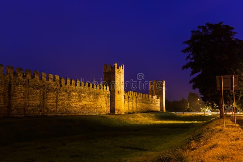Ciudad medieval de Montagnana en Italia foto de archivo libre de regalías