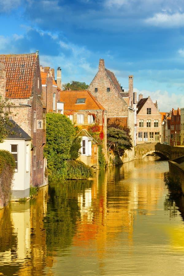 Ciudad medieval del cuento de hadas fotografía de archivo libre de regalías