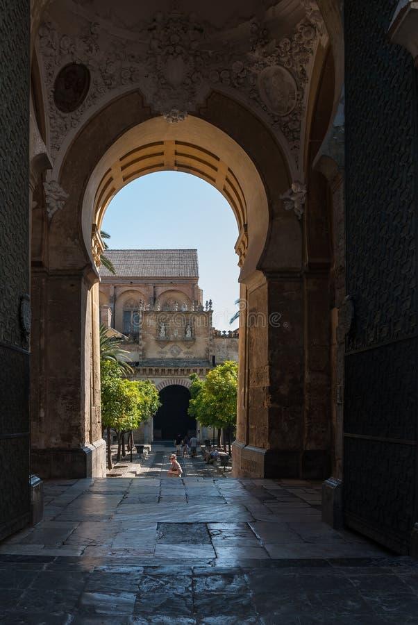 Ciudad monumental de Córdoba foto de archivo libre de regalías