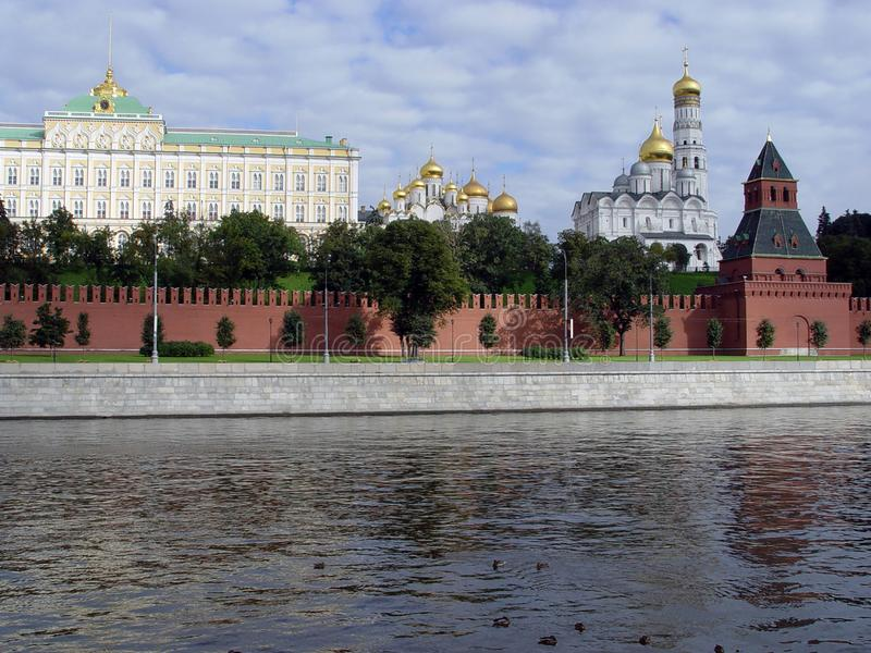 Ciudad Moscú Paisaje 2003 imagenes de archivo