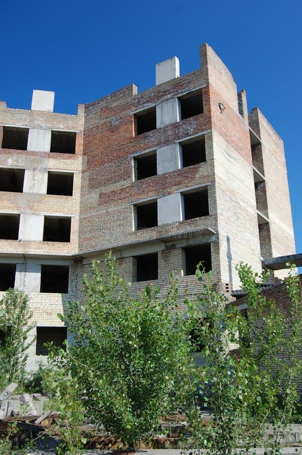 Ciudad perdida. Área de Chernobyl. imagen de archivo