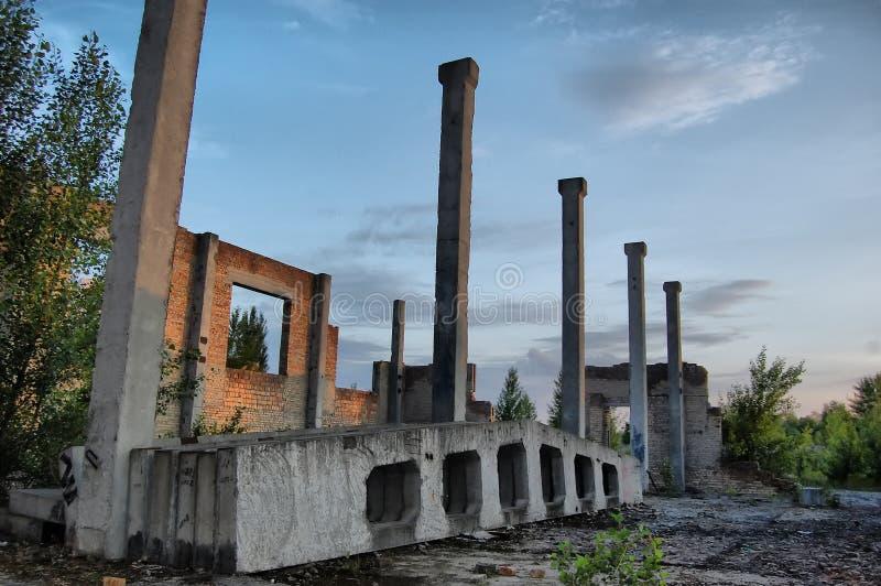 Ciudad perdida imagen de archivo libre de regalías