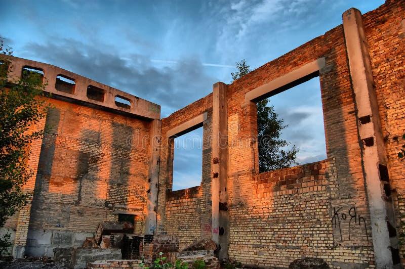 Ciudad perdida imagen de archivo