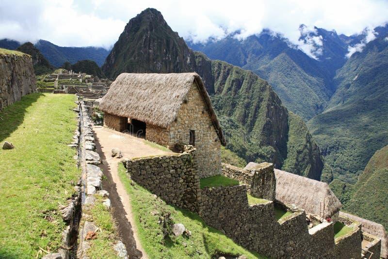 Ciudad perdida de Machu Picchu - Perú fotografía de archivo libre de regalías