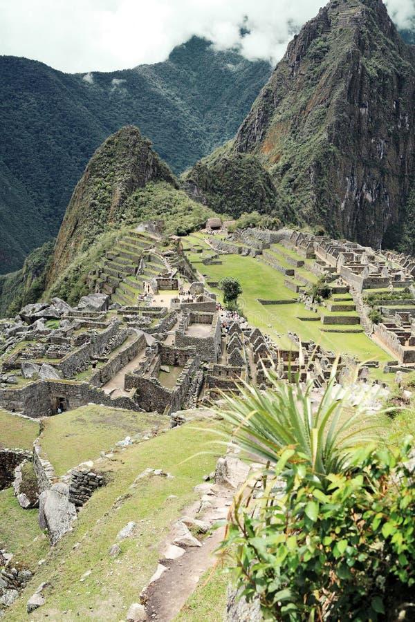 Ciudad perdida de Machu Picchu - Perú fotografía de archivo