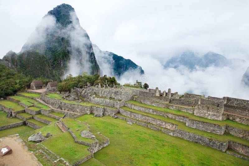 Ciudad perdida de Machu Picchu - Perú foto de archivo libre de regalías
