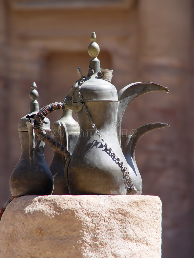 ciudad Petra-antigua, Jordania imagenes de archivo