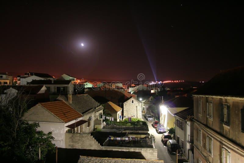 Download Ciudad Primosten imagen de archivo. Imagen de croatia, azotea - 186407