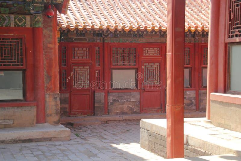 Ciudad prohibida en Pekín fotos de archivo