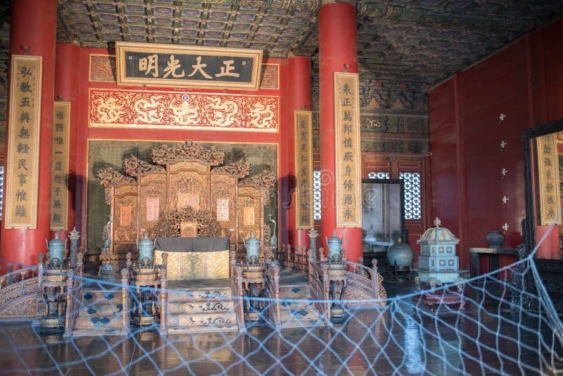 Ciudad prohibida en Pekín, China foto de archivo libre de regalías