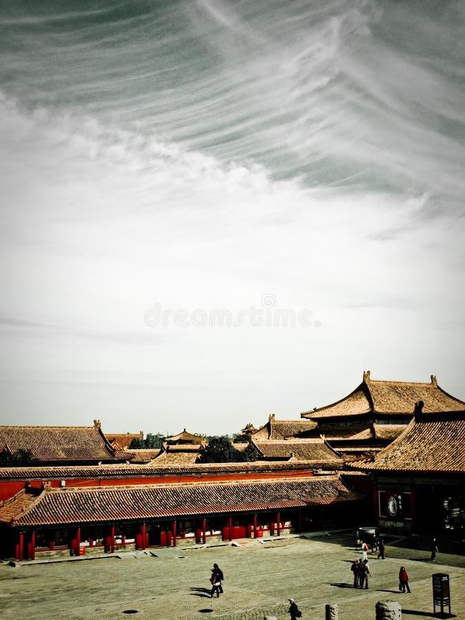 Ciudad prohibida Pekín fotografía de archivo