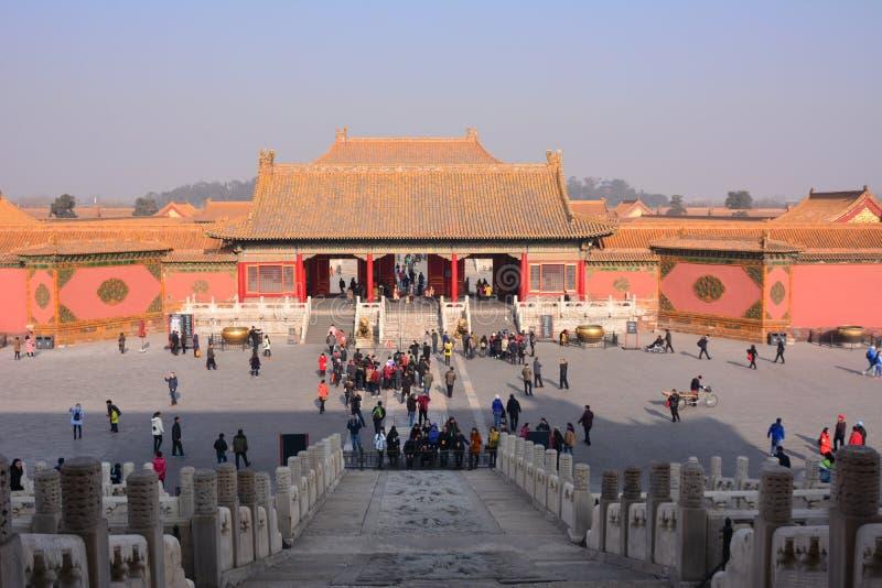 Ciudad prohibida Pekín fotos de archivo