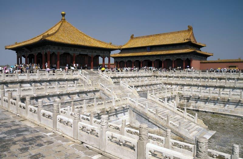 Ciudad prohibida - Pekín - China fotos de archivo