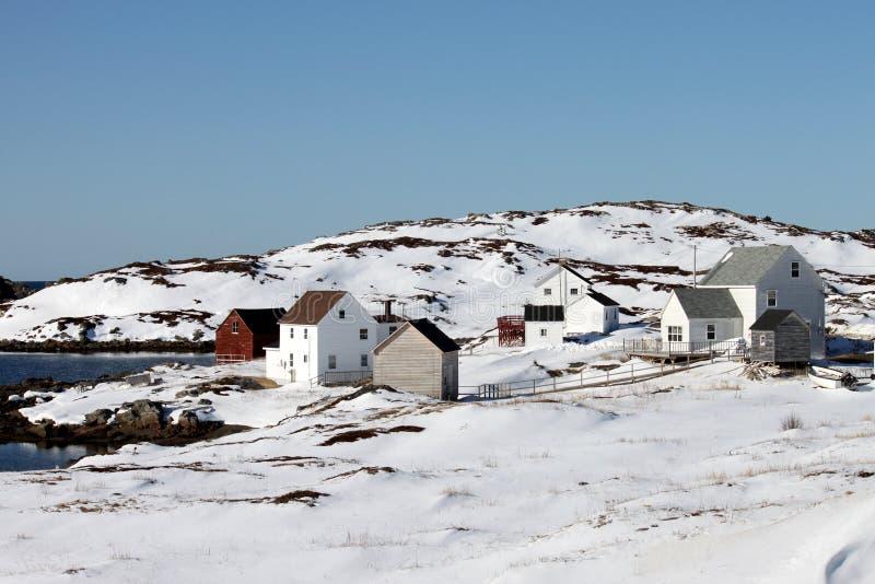 Ciudad rural aislada imagen de archivo