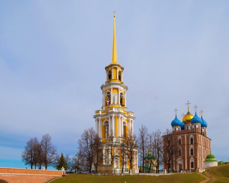 Ciudad rusa antigua de Ryazan imagen de archivo libre de regalías